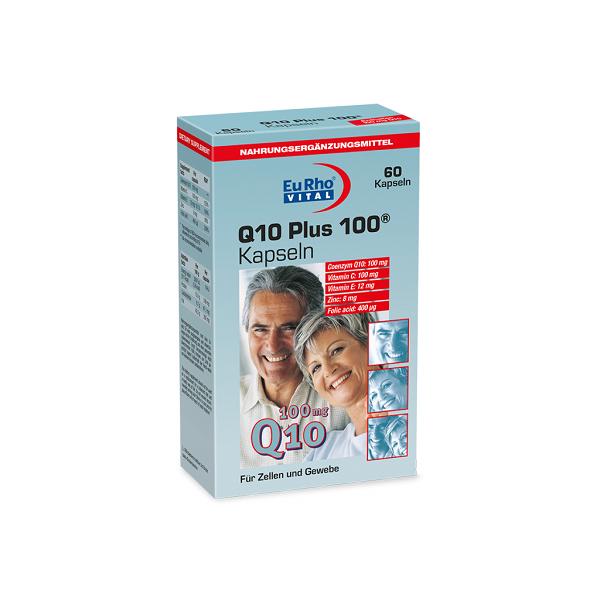 خرید قیمت فروش نحوه استفاده کپسول کیوتن پلاس ۱۰۰ یوروویتال ۶۰ عدد