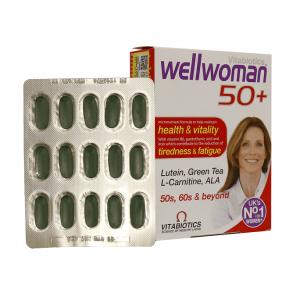 کپسول ول ومن ۵۰ سال به بالا ویتابیوتیکس مخصوص خانم ها ۳۰ عددی