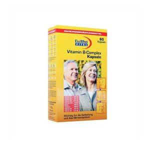 کپسول ویتامین ب کمپلکس یوروویتال ۶۰ عدد