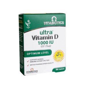 قرص اولترا ویتامین D3 ویتابیوتیکس 90 عدد