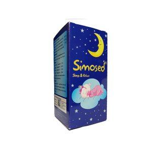 خرید قیمت فروش نحوه استفاده شربت سیموسد مخصوص خواب و آرامش کودکان
