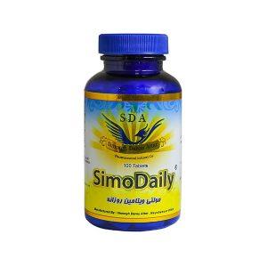 قرص مولتی ویتامین روزانه سیمودیلی سیمرغ دارو عطار 100 عدد