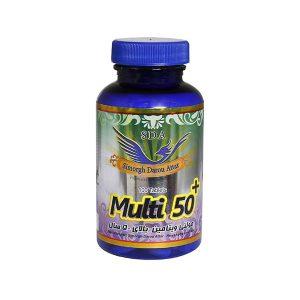 قرص مولتی ویتامین بالای 50 سال سیمرغ دارو عطار 100 عدد