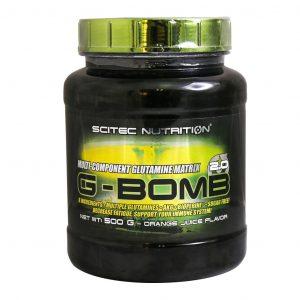گلوتامین جی بمب سایتک نوتریشن 500 گرم
