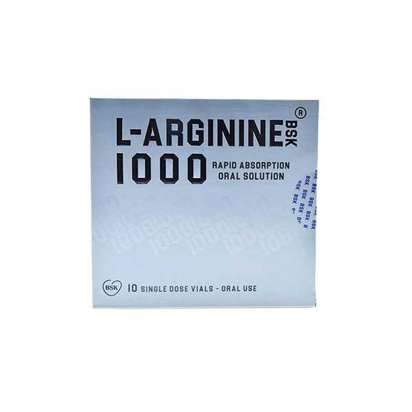 ال آرژنین 1000 میلی گرم بی اس کی 10 عدد