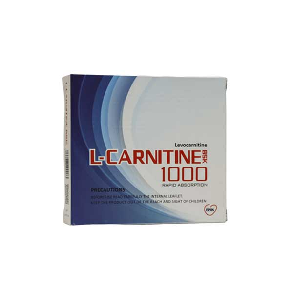 محلول خوراکی ال کارنیتین 1000 بنیان سلامت کسری 10 عدد