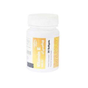 کپسول نرم ویتامین 400 E واحد کارن