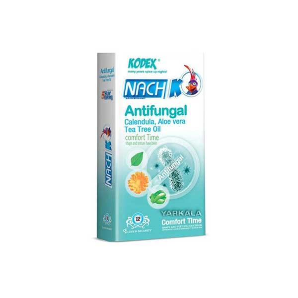 کاندوم ضد قارچ و ضد عفونی کننده کدکس مدل آنتی فونگال بسته 12 عددی