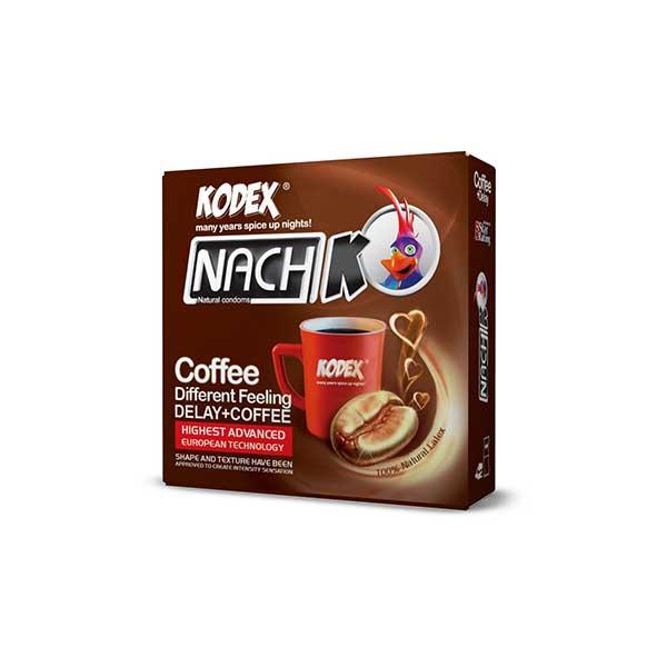 کاندوم تاخیری کدکس 3 عددی مدل Coffee