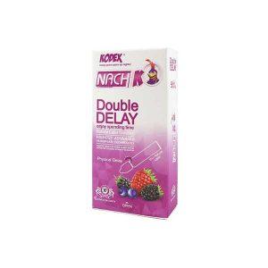 کاندوم تاخیری فیزیکی دابل دیلی Double Delay کدکس 10 عددی