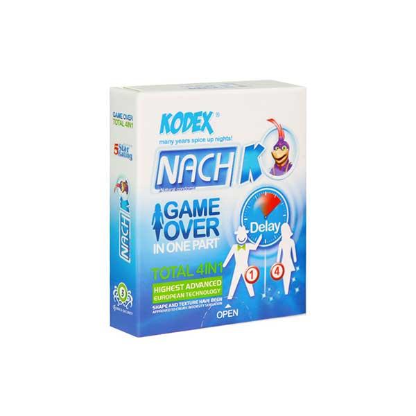 کاندوم 4 کاره سرد کدکس مدل گیم اور 3 عدد