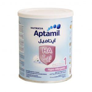شیر خشک آپتامیل اچ آ ۱ نوتریشیا از بدو تولد تا ۶ ماهگی ۴۰۰ گرم