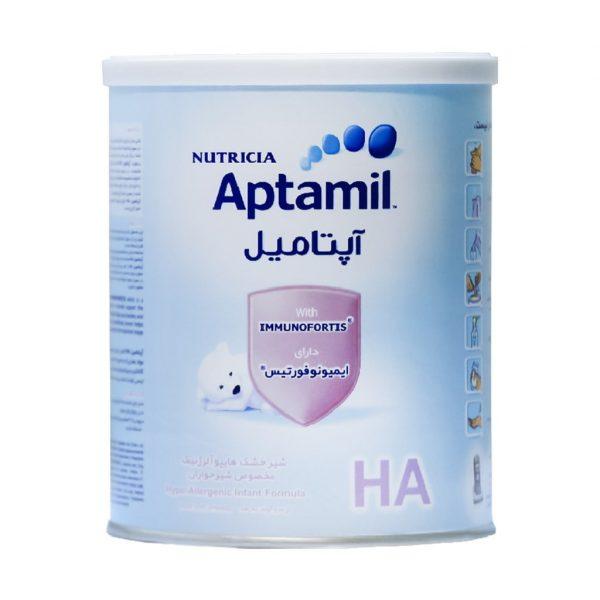 شیر خشک آپتامیل اچ آ نوتریشیا مناسب شیرخواران ۴۰۰ گرم