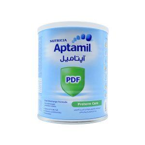 شیر خشک آپتامیل پی دی اف نوتریشیا مخصوص نوزادان نارس 400 گرم