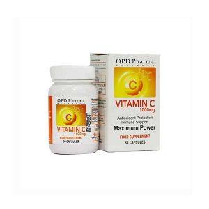 کپسول ویتامین C 1000 میلی گرم ماکسیمم پاور او پی دی فارما