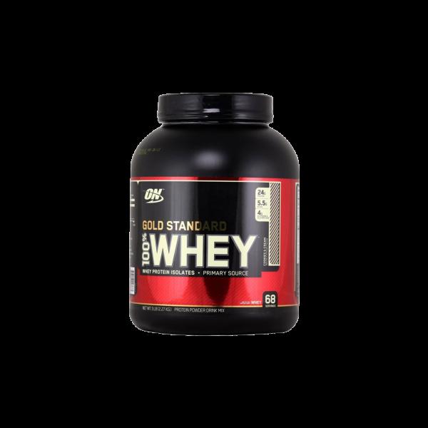 پروتئین 100 درصد وی گلد استاندارد اپتیموم نوتریشن 2.27 کیلوگرم