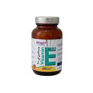 سافت ژل ویتامین E 200 واحد رزاویت 60 عدد