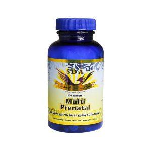قرص مولتی پریناتال سیمرغ دارو عطار مناسب دوران بارداری و شیردهی