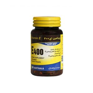 سافت ژل ویتامین E 400 واحد یاس کویر میبد 50 عدد