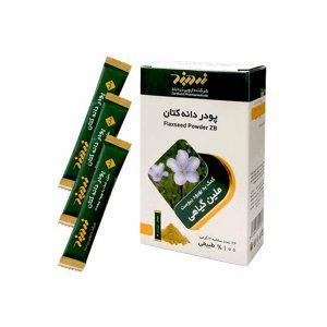 خرید قیمت فروش نحوه استفاده پودر دانه کتان ۲۴ عددی زردبند