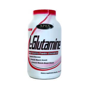 خرید قیمت فروش نحوه استفاده پودر عضله سازی ال گلوتامین اپکس