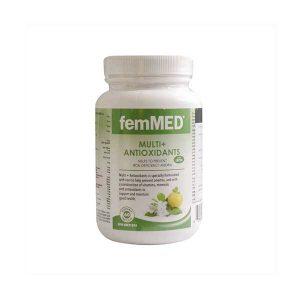 کپسول مولتی ویتامین و آنتی اکسیدان به همراه آهن فم مد 60 عدد