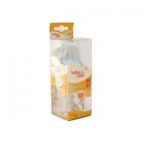 شیشه شیر پیرکس بیبی لند 120 میلی لیتر مناسب نوزادان از بدو تولد تا 6 ماهگی