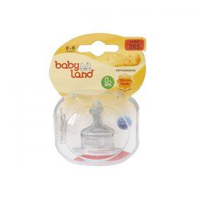 سرشیشه ارتودنسی کودک بیبی لند کد 265 مناسب نوزادان 0-6 ماه