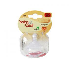سر شیشه ارتودنسی کودک بیبی لند کد 502 مناسب نوزادان 6 تا 18 ماه