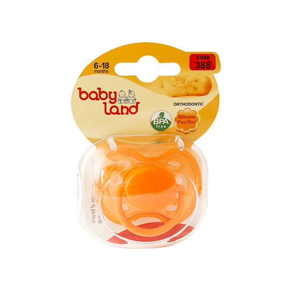 پستانک ارتودنسی بیبی لند کد 388 مناسب نوزادان 6 تا 18 ماه