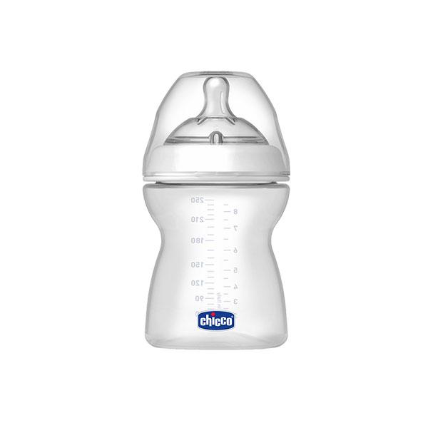 شیشه شیر استپ آپ ۴+ چیکو کد ۸۰۷۲۵ مناسب نوزادان بالای ۴ ماه