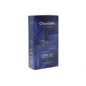 کاندوم با فرم بدنه ساده چرچیلز مدل Classic بسته 12 عددی