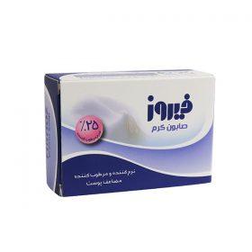 صابون کرم فیروز مناسب پوست های خشک و حساس 120 گرم