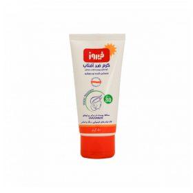 کرم ضد آفتاب کودک فیروز SPF30 حجم ۵۰ گرم