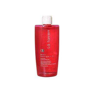 پاک کننده آرایش پوست معمولی و چرب لافارر 250 میلی لیتر