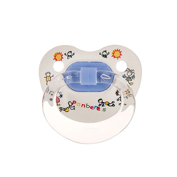 پستانک ارتودنسی سایز ۲ پنبه ریز مخصوص نوزادان ۶ تا ۱۸ ماه
