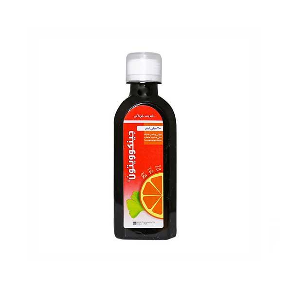 شربت مولتی ویتامین جینکوویتون رها فارما 200 میلی لیتر