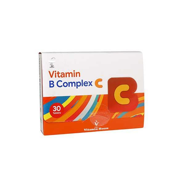 ویتامین ب کمپلکس سی ویتامین هاوس 30 عدد