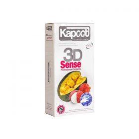 کاندوم سه بعدی کاپوت مدل 3D Sense تعداد 12 عدد