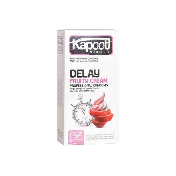 کاندوم تاخیری میوه ای کاپوت مدل Delay Fruity Cream