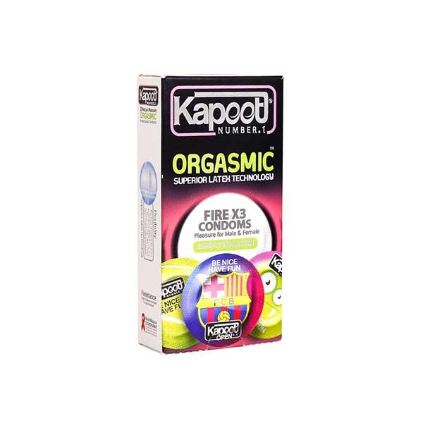 کاندوم تاخیری ارگاسمیک کاپوت 12 عدد