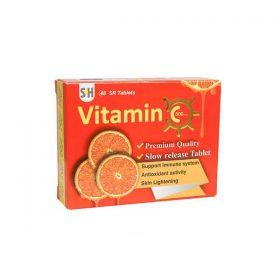 قرص آهسته رهش ویتامین C 500 میلی گرم شهاب درمان 48 عدد